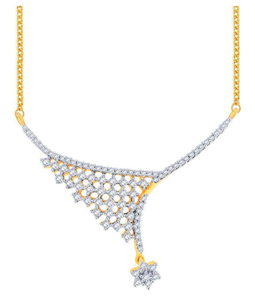 Nakshatra 18k Gold Diamond Mangalsutra