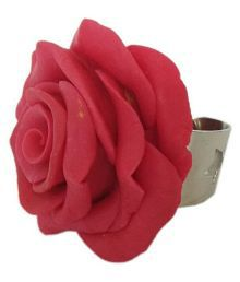 Unique indian craft Handmade Artificial Jewelry Porcelain Dough Ring /for women /girls