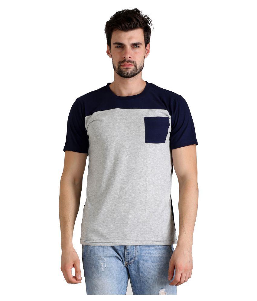 Atheno Grey Round T-Shirt