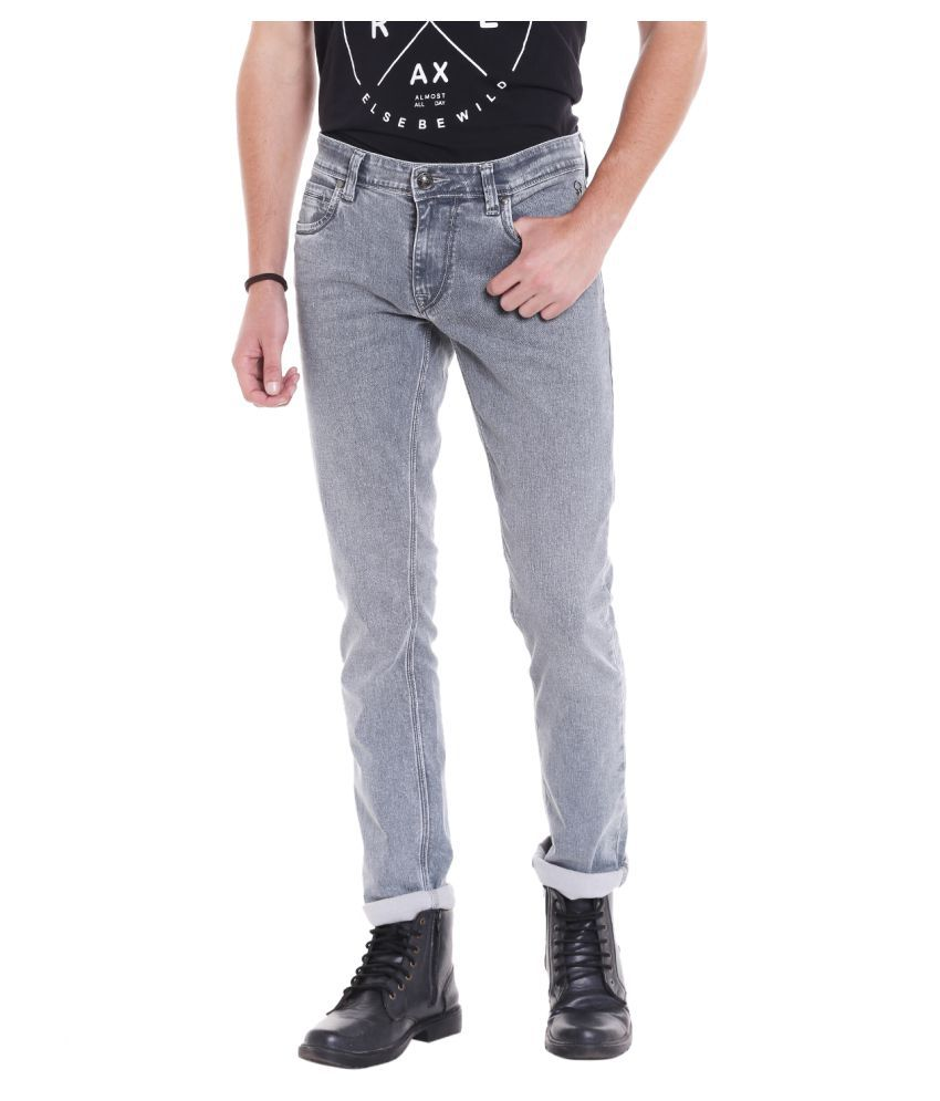 Lawman PG3 Grey Slim Jeans