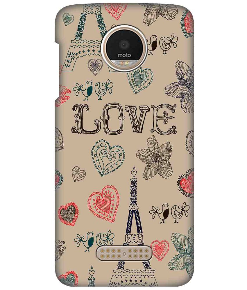 Motorola Moto Z2 Play Printed Cover By LOL