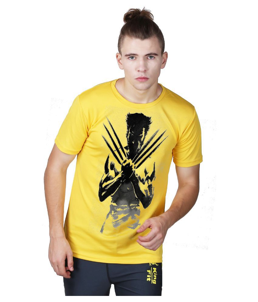 Essenze Yellow Round T-Shirt