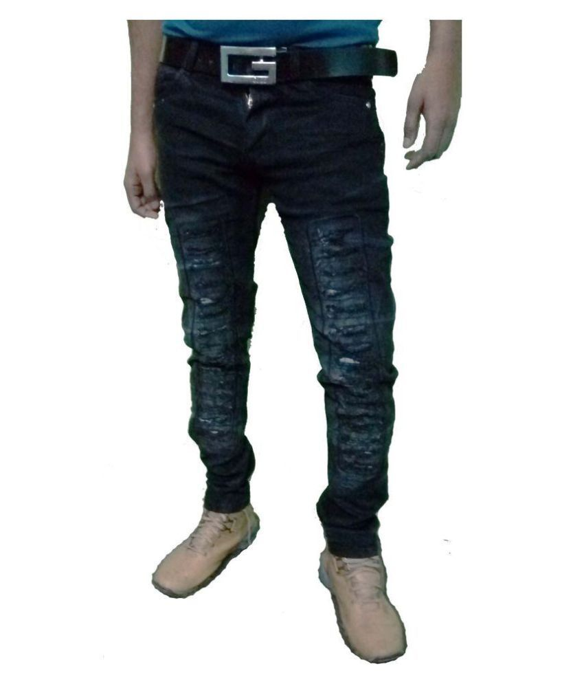 RD OUTFITS Black Slim Jeans
