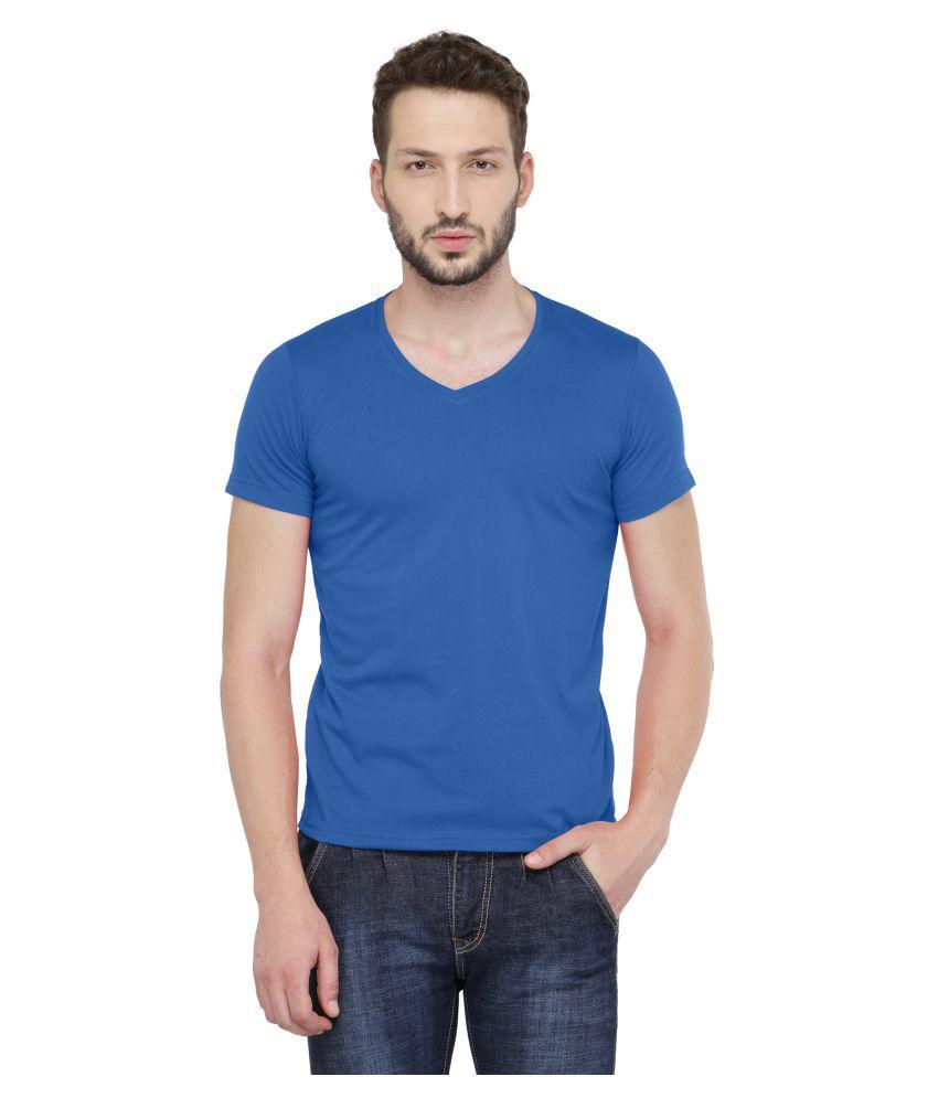 Stylarc Blue V-Neck T-Shirt