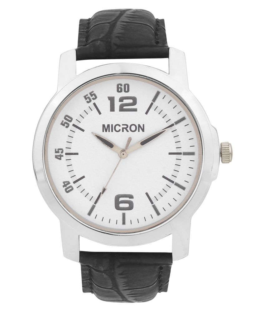 a24db0a22 Micron white dial analog mens watch - Buy Micron white dial analog mens  watch Online at Best Prices in India on Snapdeal