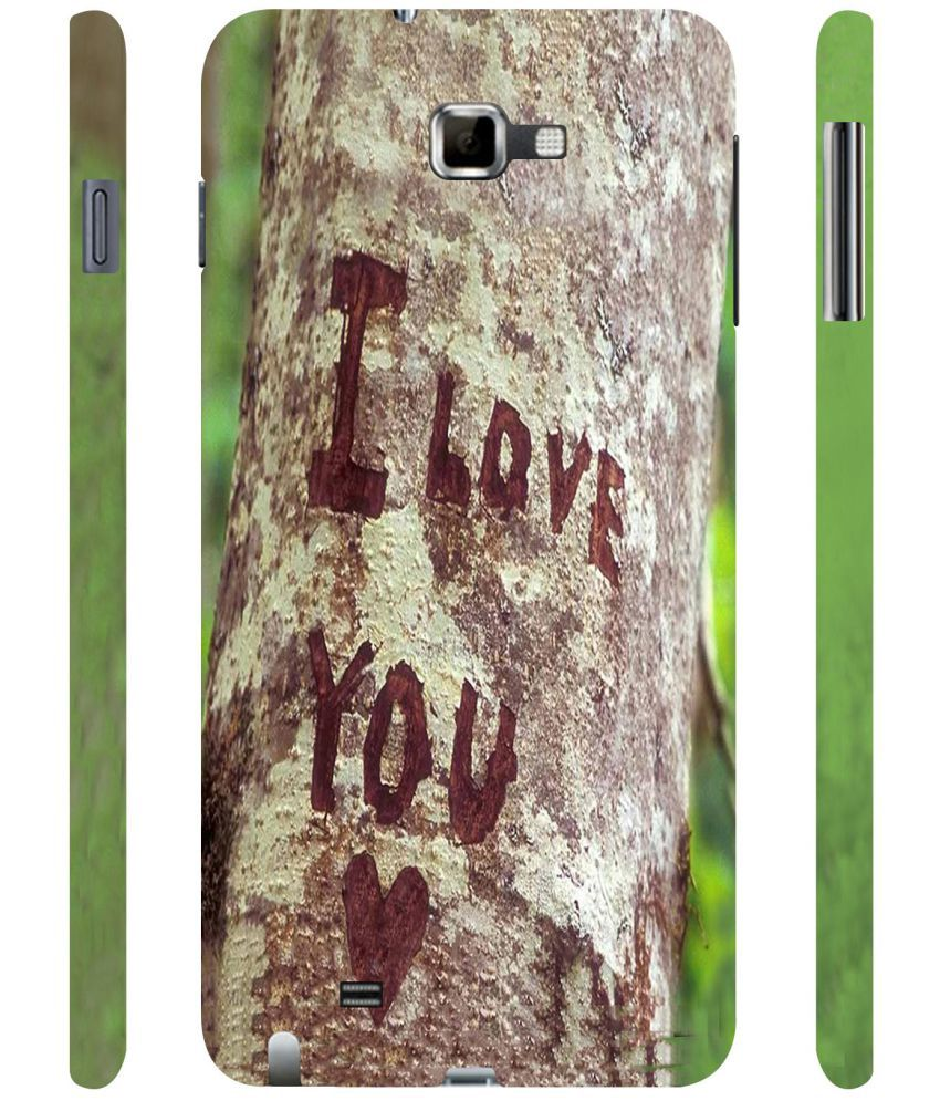 Samsung Galaxy Note Printed Cover By Casotec