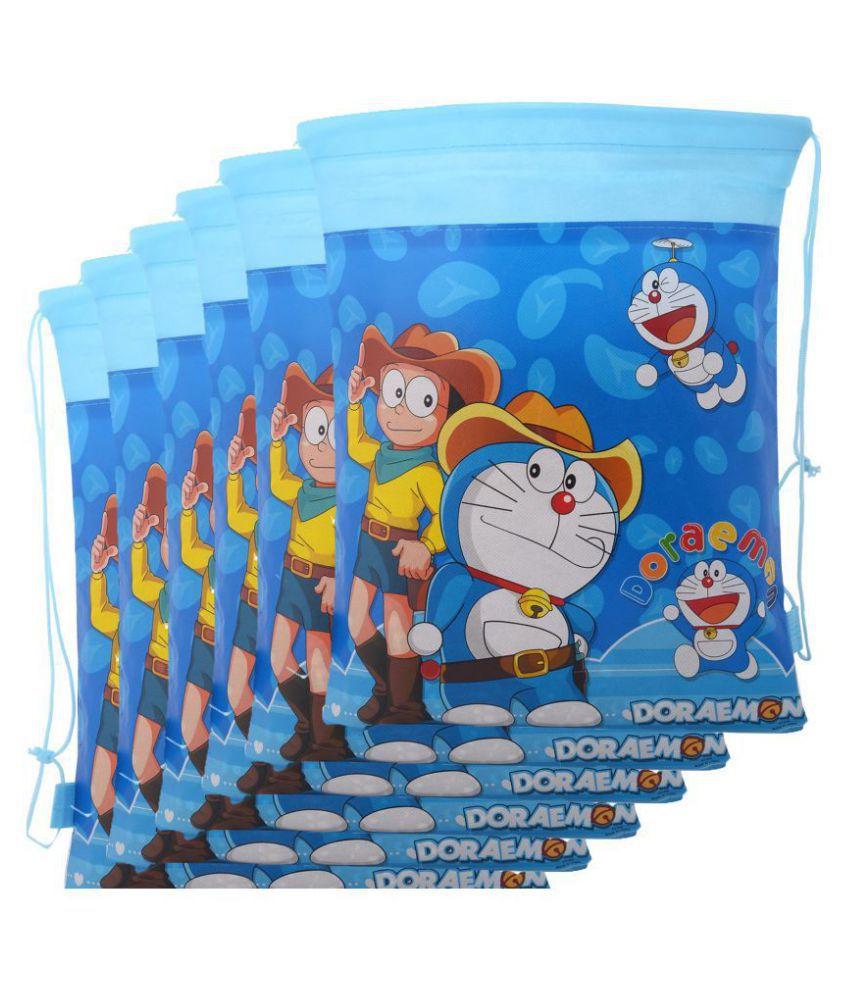 Asera 12 Pcs Doraemon Dori Bags Haversack For Birthday Party Return Gifts Theme