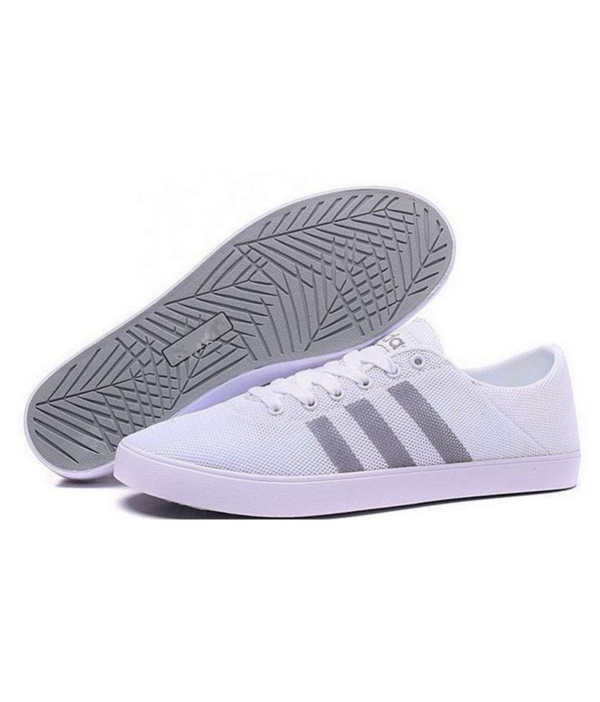 Asumer Adidas Neo 1 Skateboard Sneakers White Casual Shoes