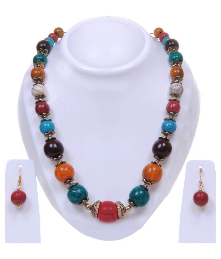 Twella Creations Multicolor Necklace