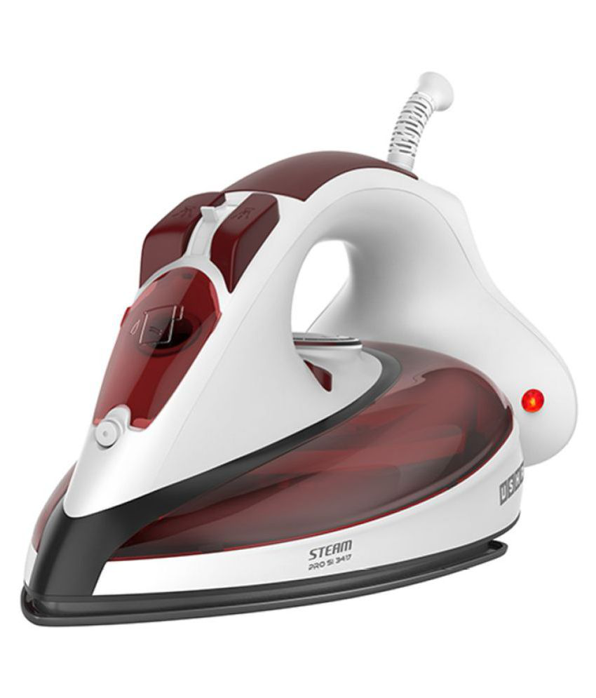 Usha Steam PRO SI 3417 Steam Iron White and Brown