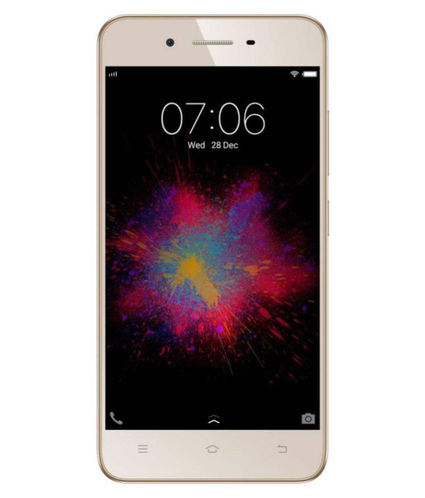 new product 57bdd 3fcfb Vivo 1606 ( 16GB , 2 GB ) Crown Gold Mobile Phones Online at Low ...