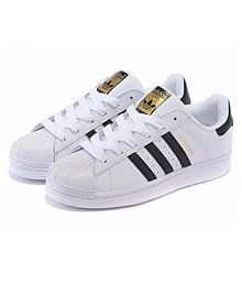 Adidas SUPERSTAR SNEAKERS SHOES White Casual Shoes