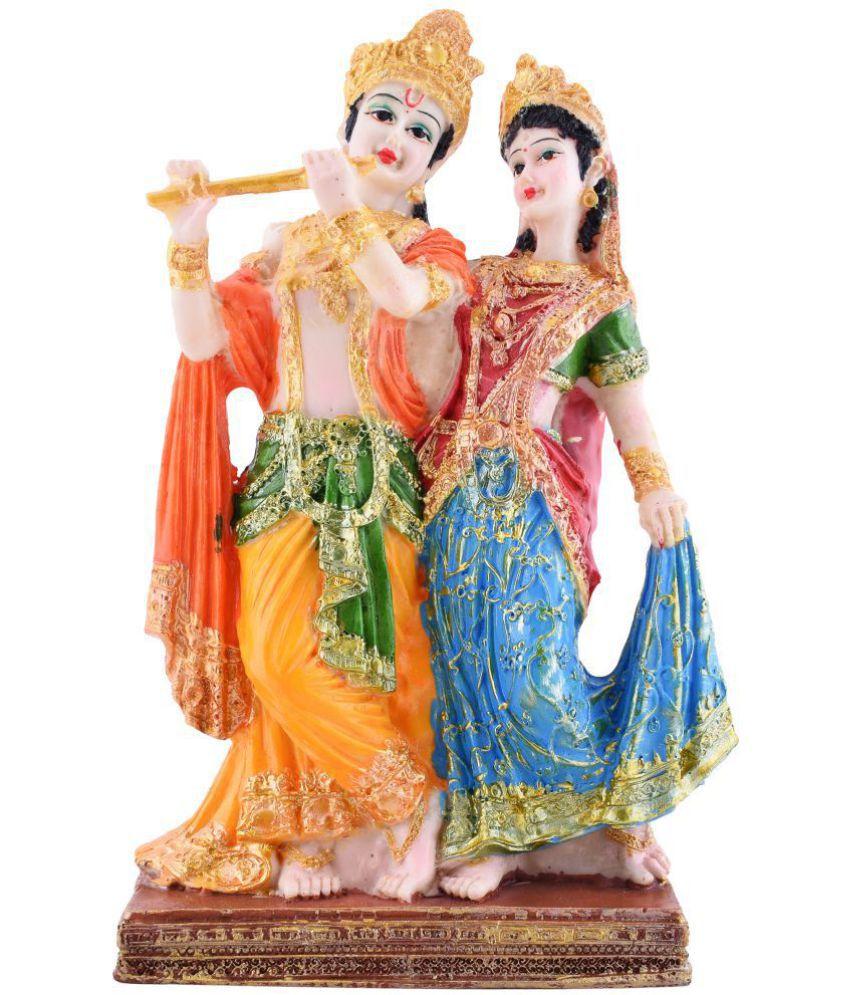 AMFLY Radha Krishna Resin Idol