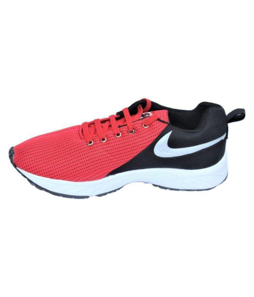 Sparx Classic Black & Red Shoes - Buy Sparx Classic Black