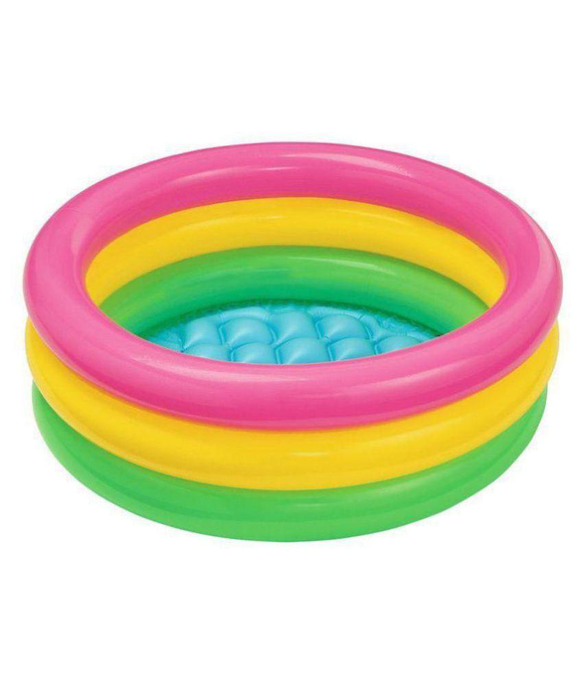Shiv International 3 Feet Kids MultiColour Swimming Pool