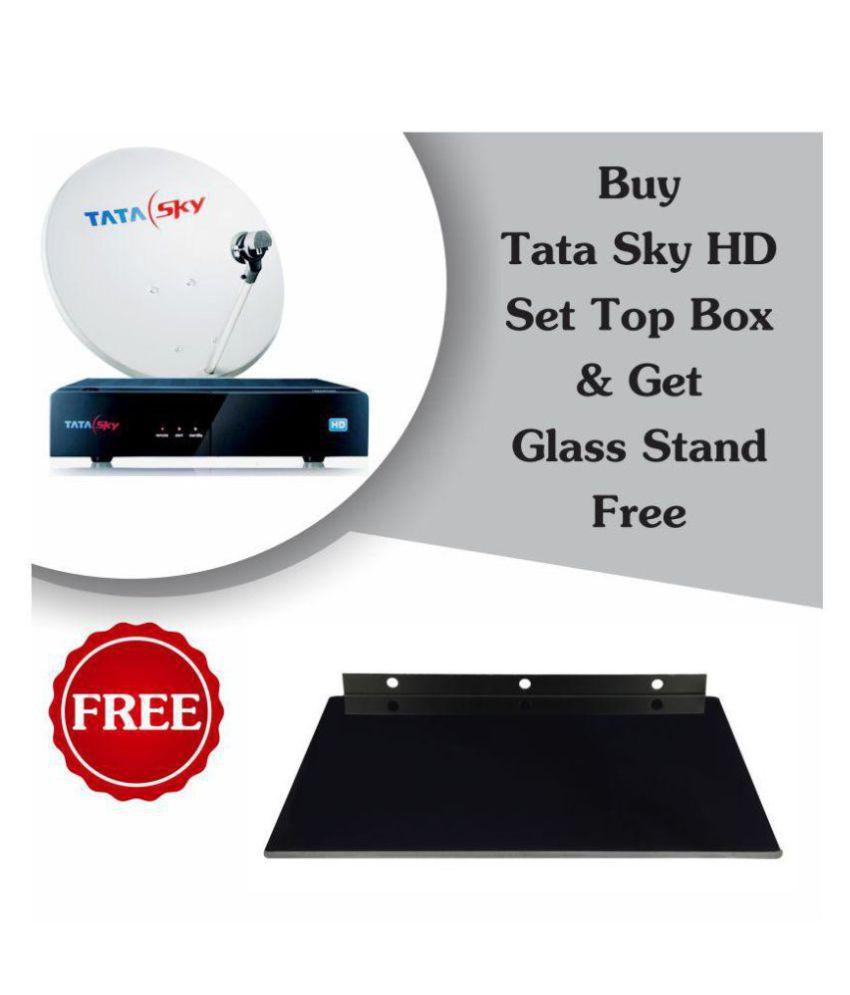 buy tata sky hd dhamaal mix plus premium glass stb wall mount with 1 rh snapdeal com Tata Sky HD Plus Menu tata sky plus user manual