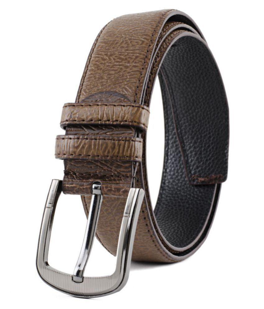 Winsome Deal Beige Faux Leather Formal Belts