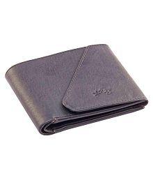 Woodland Imports PU Black Formal Short Wallet