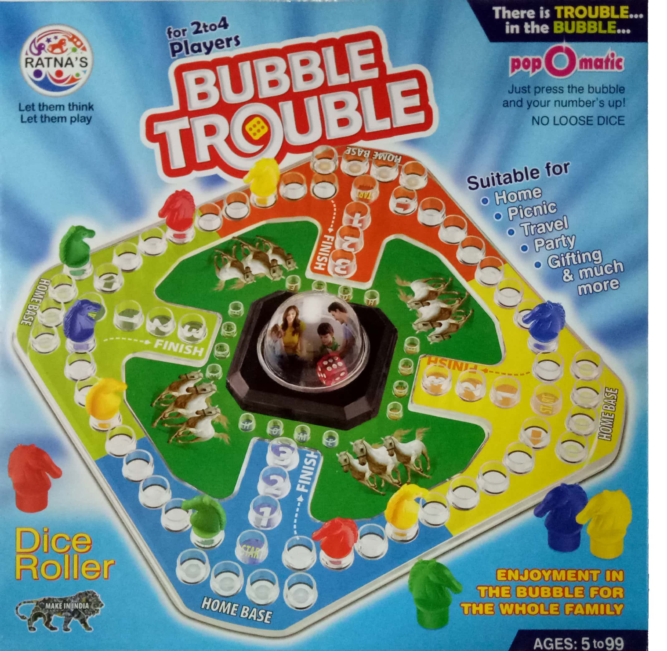 Tingoking Bubble Trouble Board Game Buy Tingoking Bubble Trouble