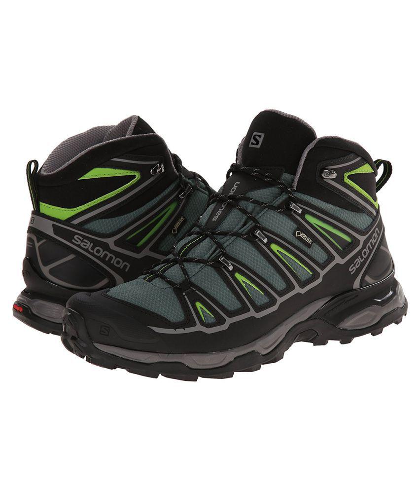 cheap for discount e51a3 dcf7a Salomon X ULTRA MID 2 GTX Black Hiking Shoes