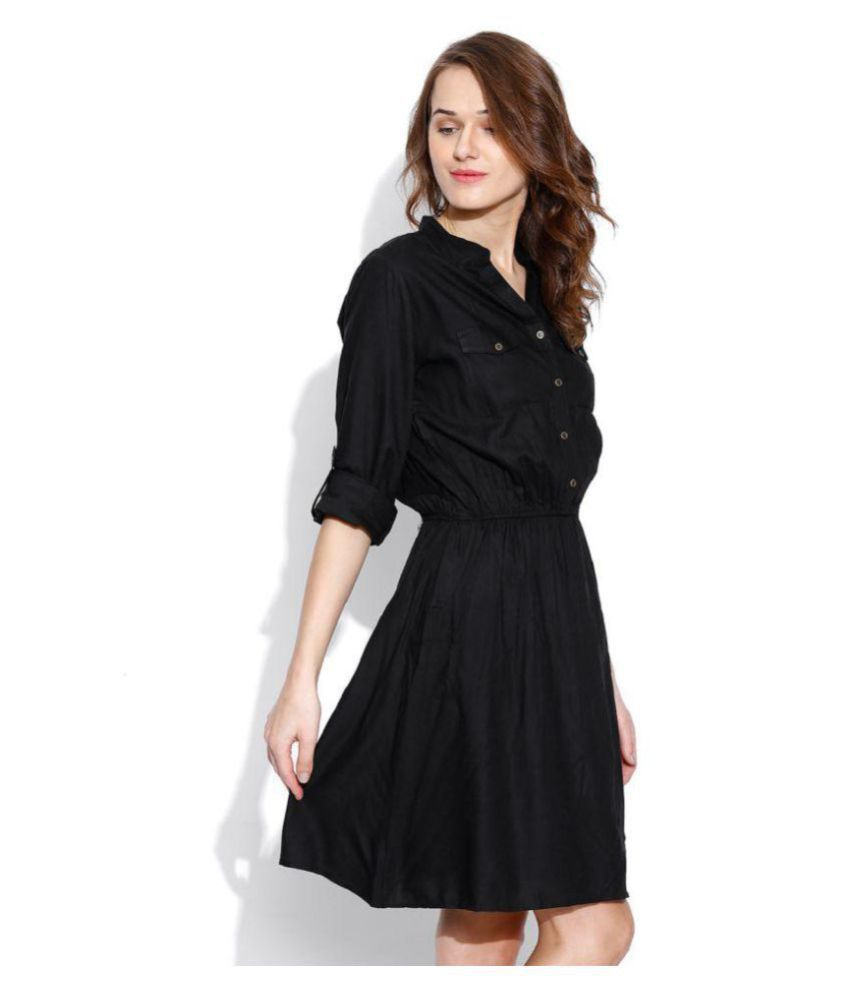 5eedd97e0ced Indicot Poly Georgette Shirt Dress Indicot Poly Georgette Shirt Dress ...