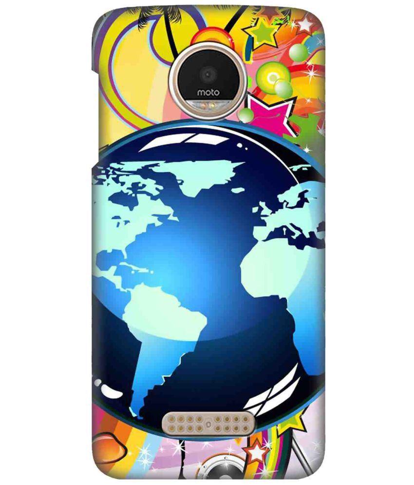 Motorola Moto Z2 Play Printed Cover By SWAGMYCASE