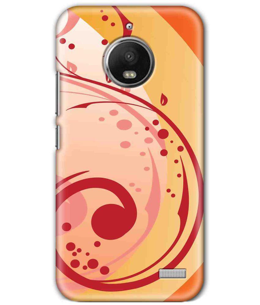 Motorola Moto E4 Printed Cover By SWAGMYCASE