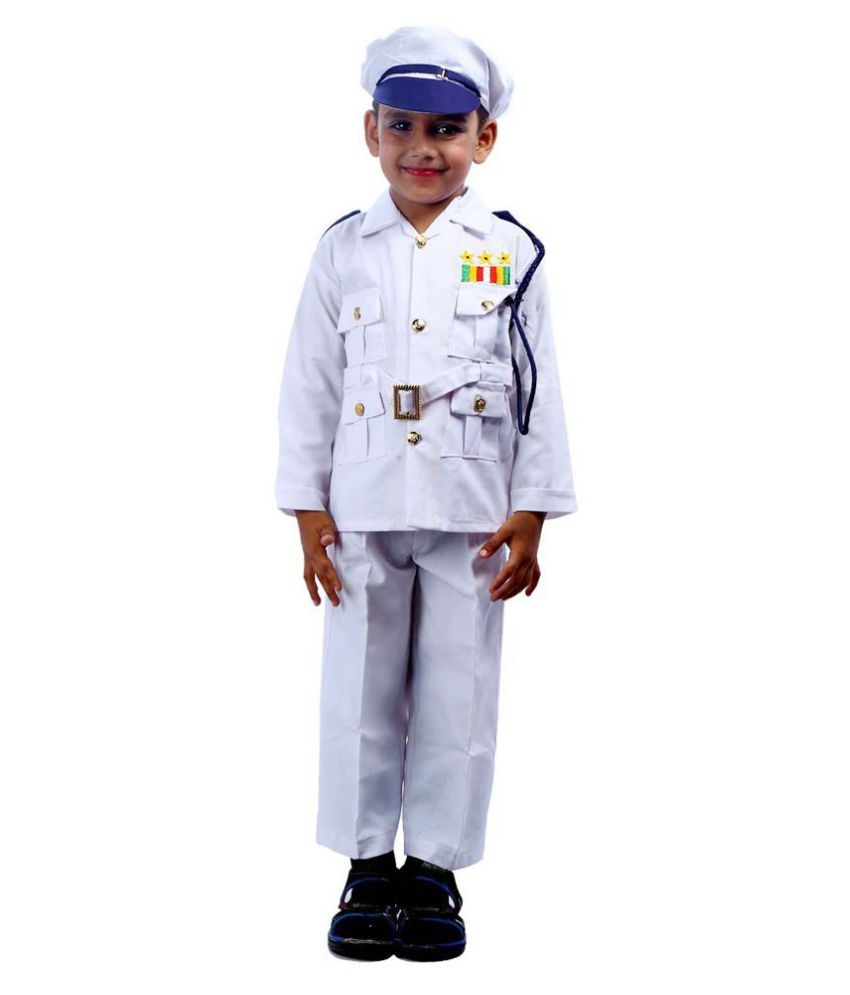 SBD Navy Community Helper Fancy Dress For Kids
