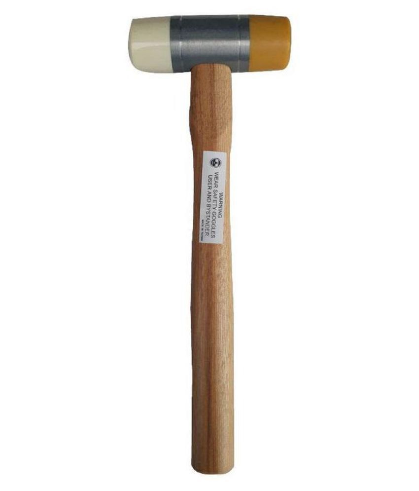 Aro LSW 12 Double Faces Wood Handle Soft Hammer 290 mm