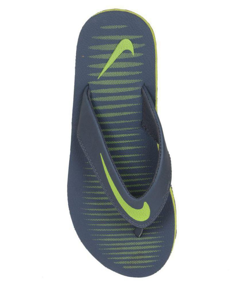 cd16bf8999ac8 Nike chroma 5 Gray Daily Slippers Price in India- Buy Nike chroma 5 ...