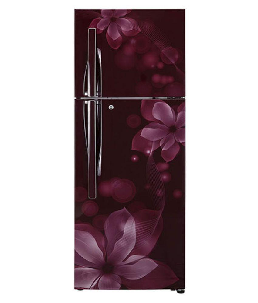 LG 260 Ltr 3 Star GL-I292RSOY Double Door Refrigerator -...