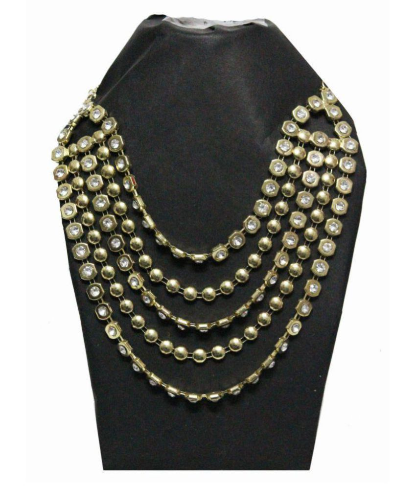 Prompt Out 950Pt Yellow Gold Necklace