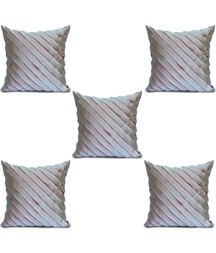 Flaming Forest Set of 5 Others Cushion Covers 40X40 cm (16X16)