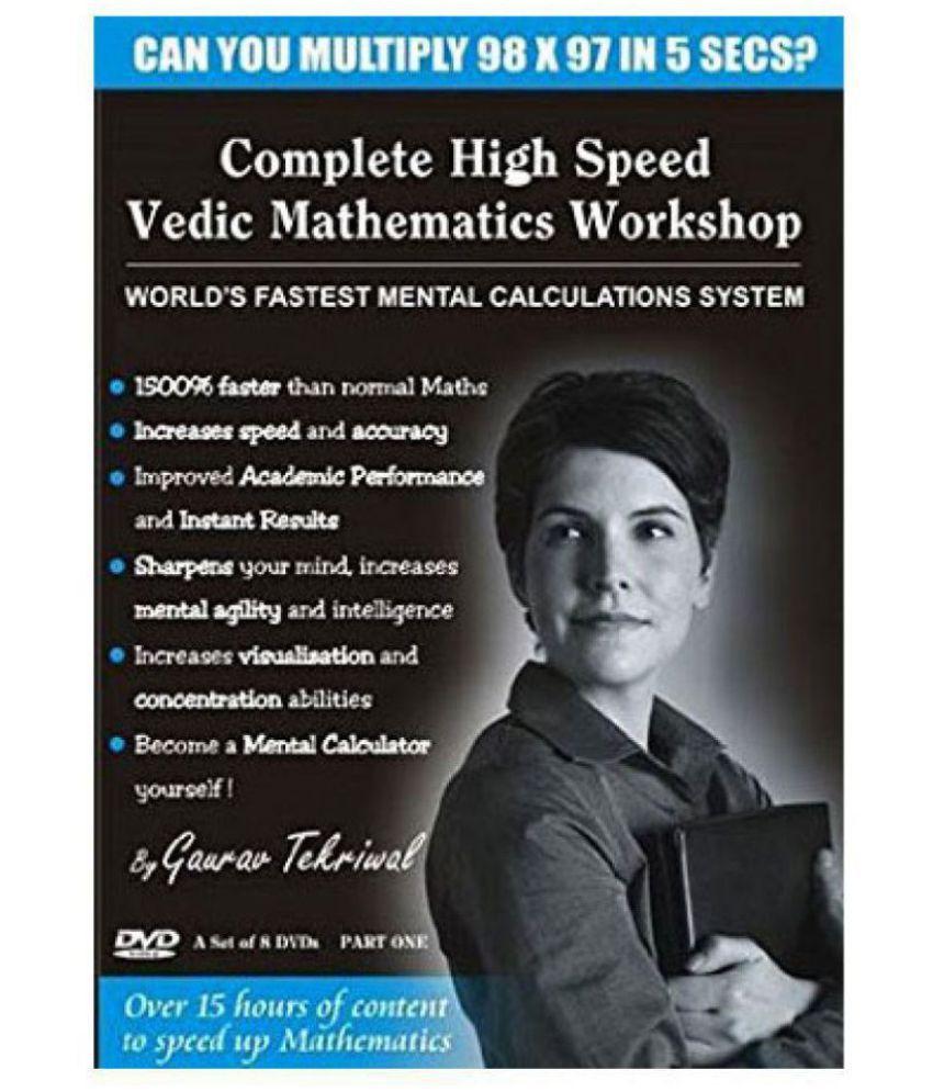 High Speed Vedic Mathematics Workshop - Learn Vedic Maths Online DVD ...
