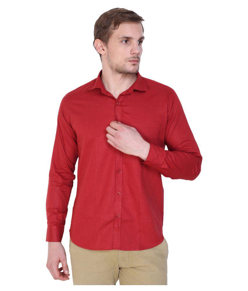 King Shopper Blue Casual Regular Fit Shirt