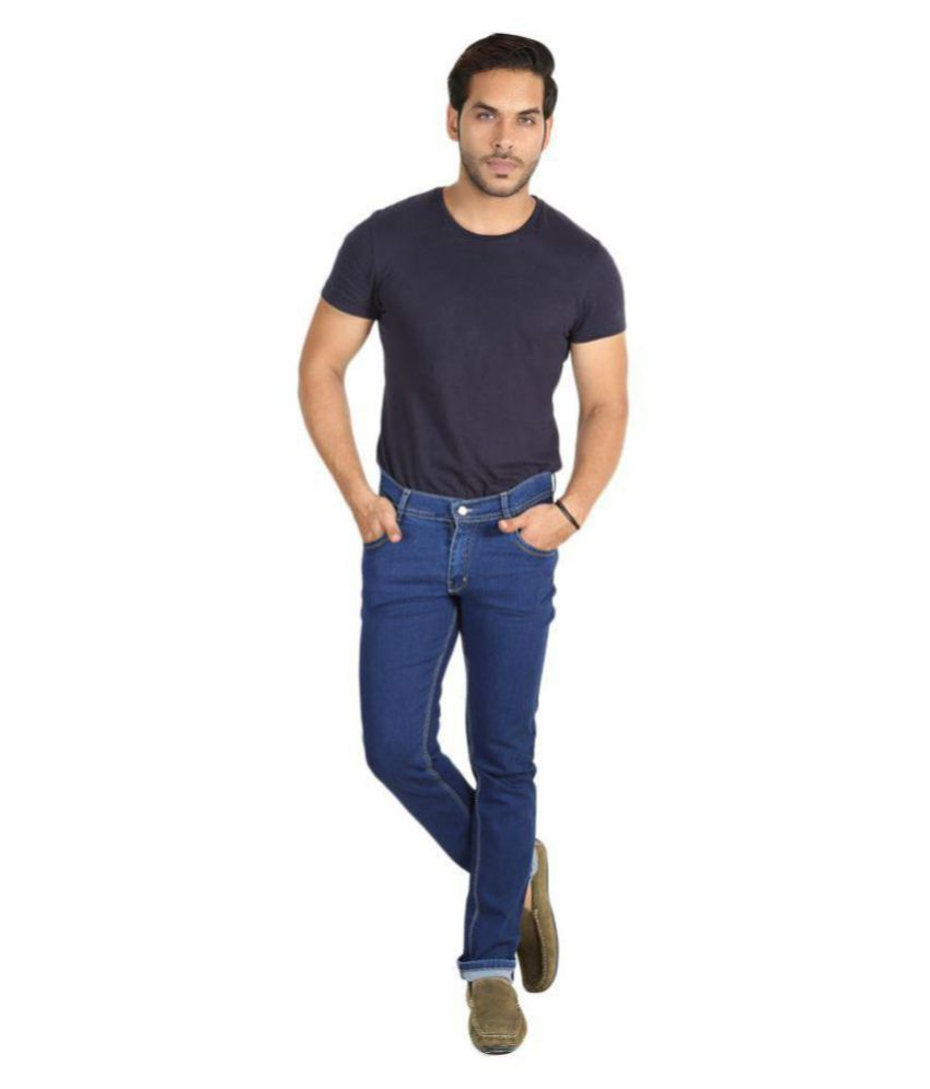 Sdc Blue Regular Fit Jeans