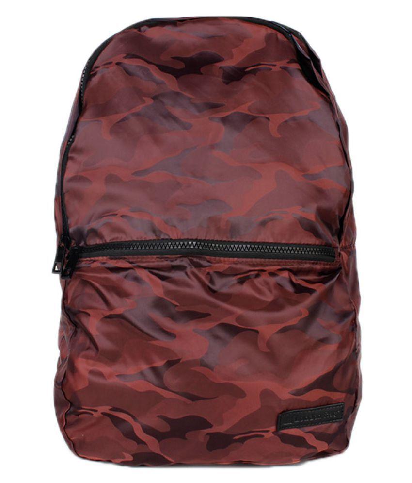London Rag Brown Polyster Backpack