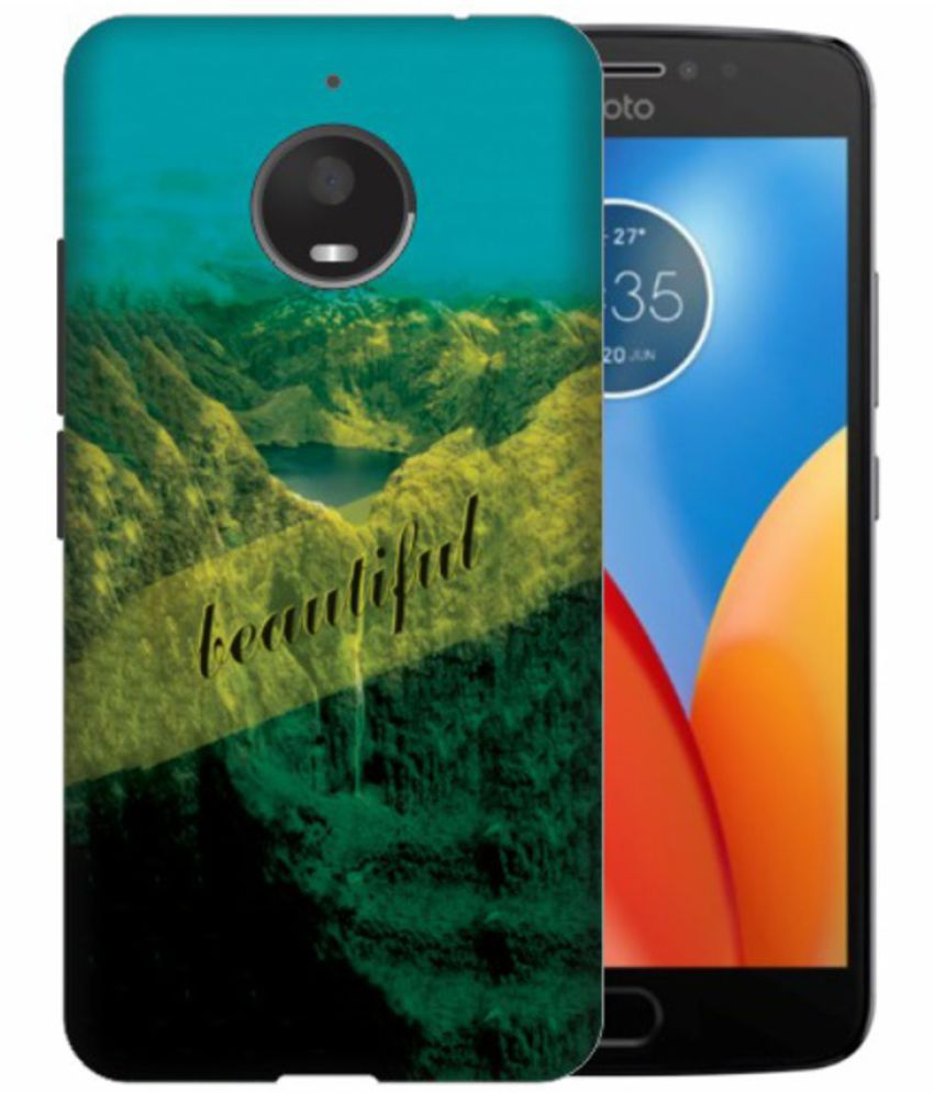 Motorola Moto E4 Plus 3D Back Covers By Printland