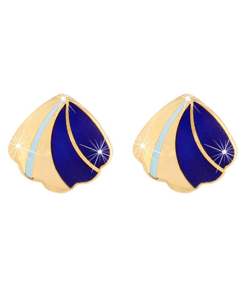 Jazz Party wear Designer Multi Color Fashion Meenakari Earring For Ladies Girls