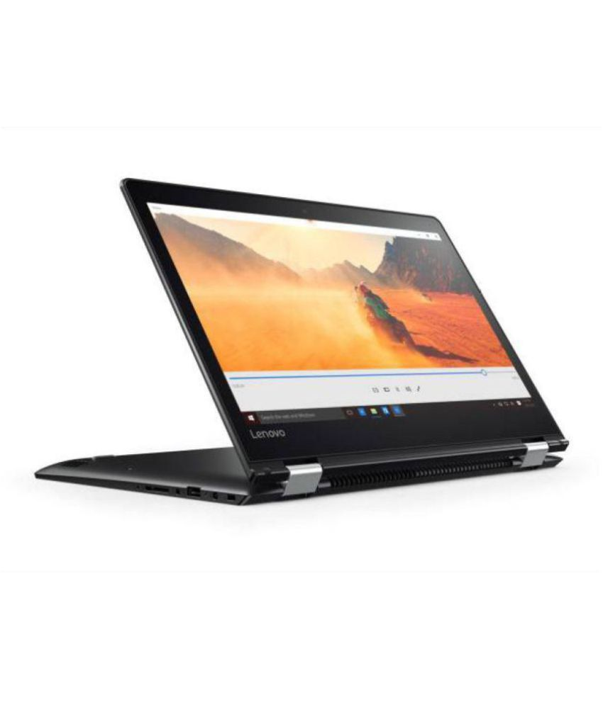 Lenovo Yoga YOGA 510-80S700DRIH Hybrid (2 in 1) Core i3 (6th Generation) 4 GB 35.56cm(14) Windows 10 Home without MS Office Not Applicable black