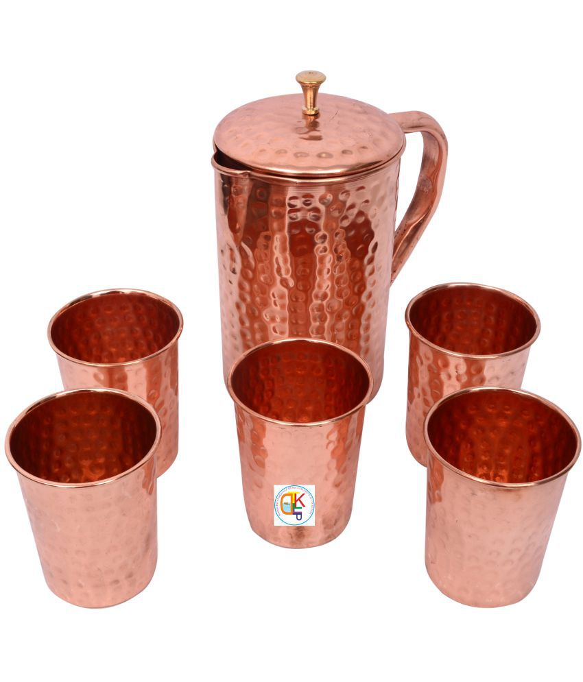 KDT 6 Pcs Jug and Glass Combo