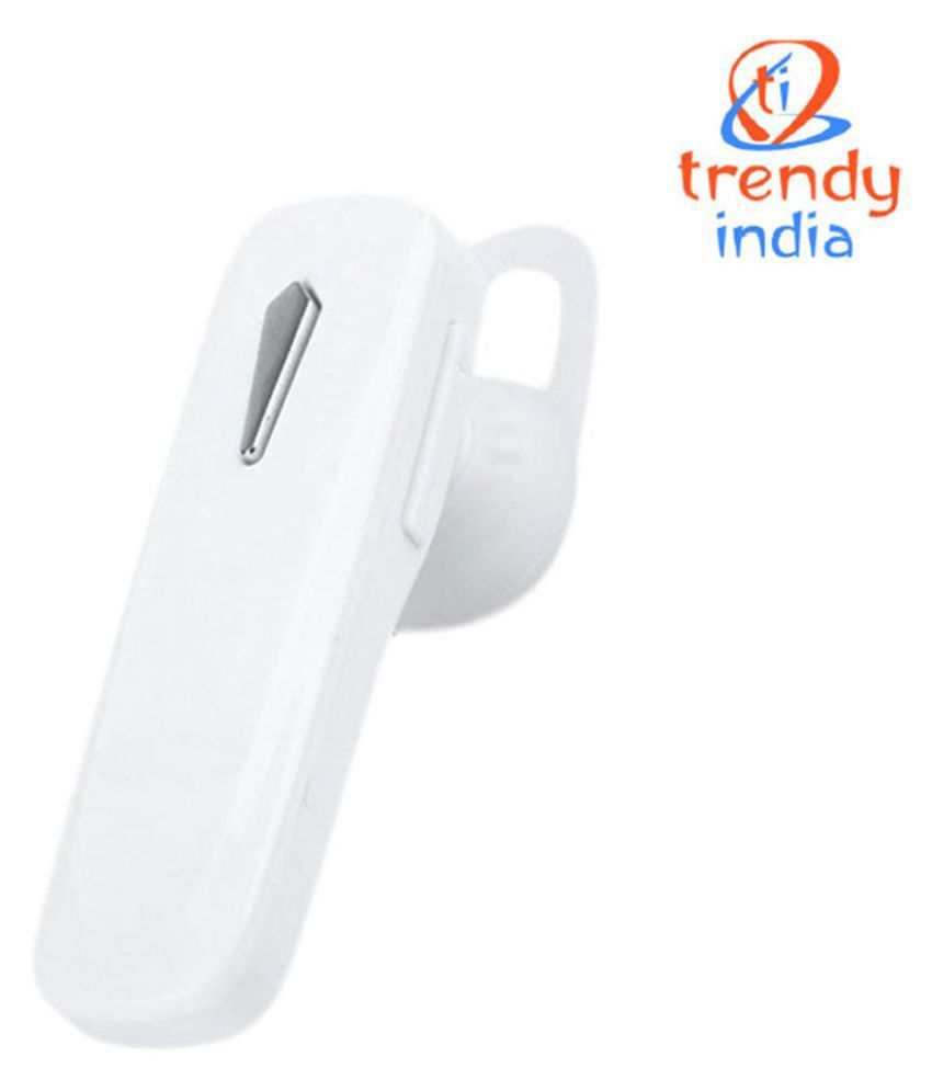 c6adadb4fd202a TrendyIndia For OnePlus 5 Bluetooth Headset - White - Bluetooth ...