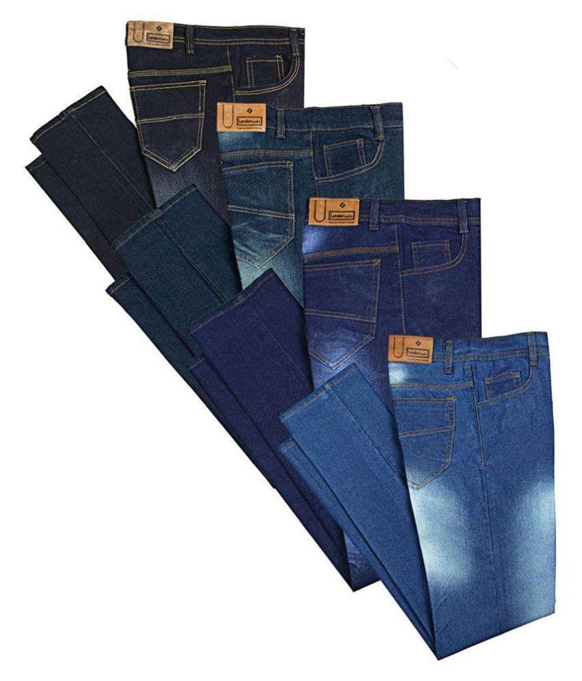 Sai Enterprises Blue Slim Jeans