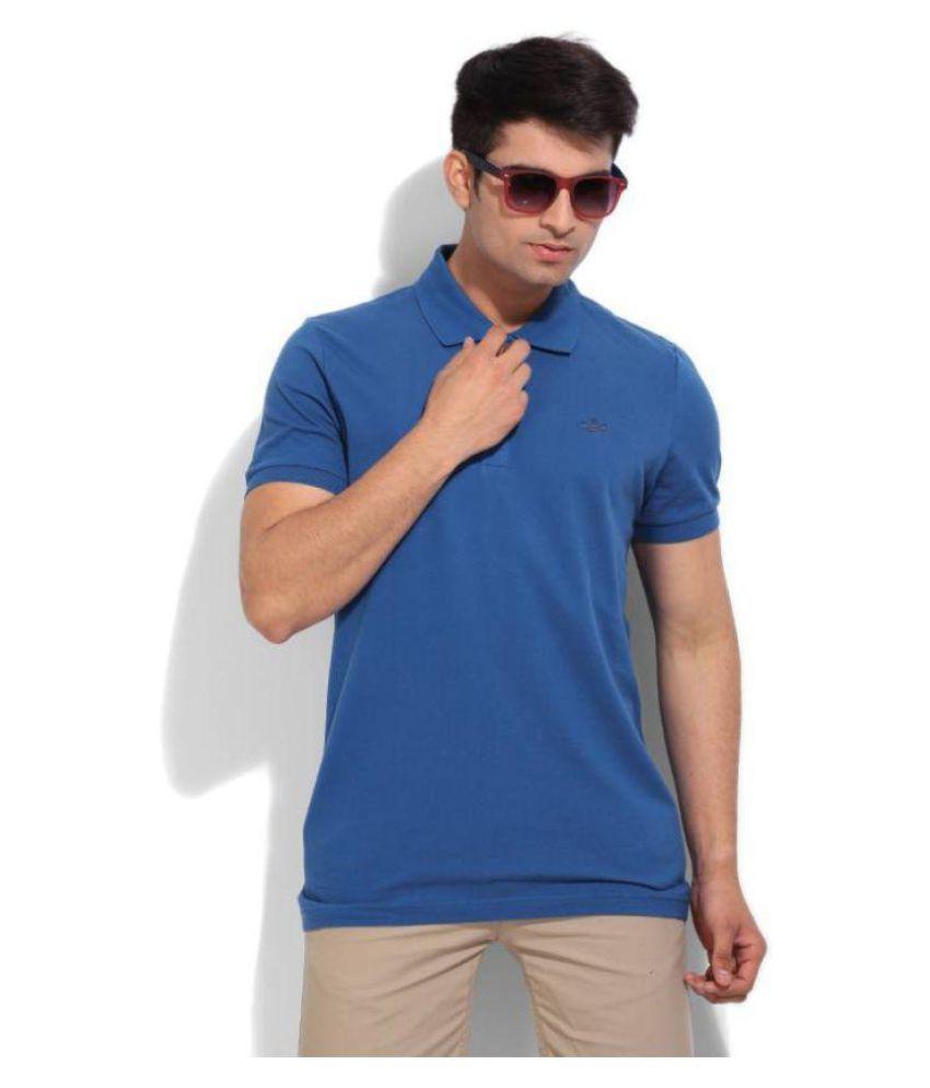 Adidas Blue Henley T-Shirt