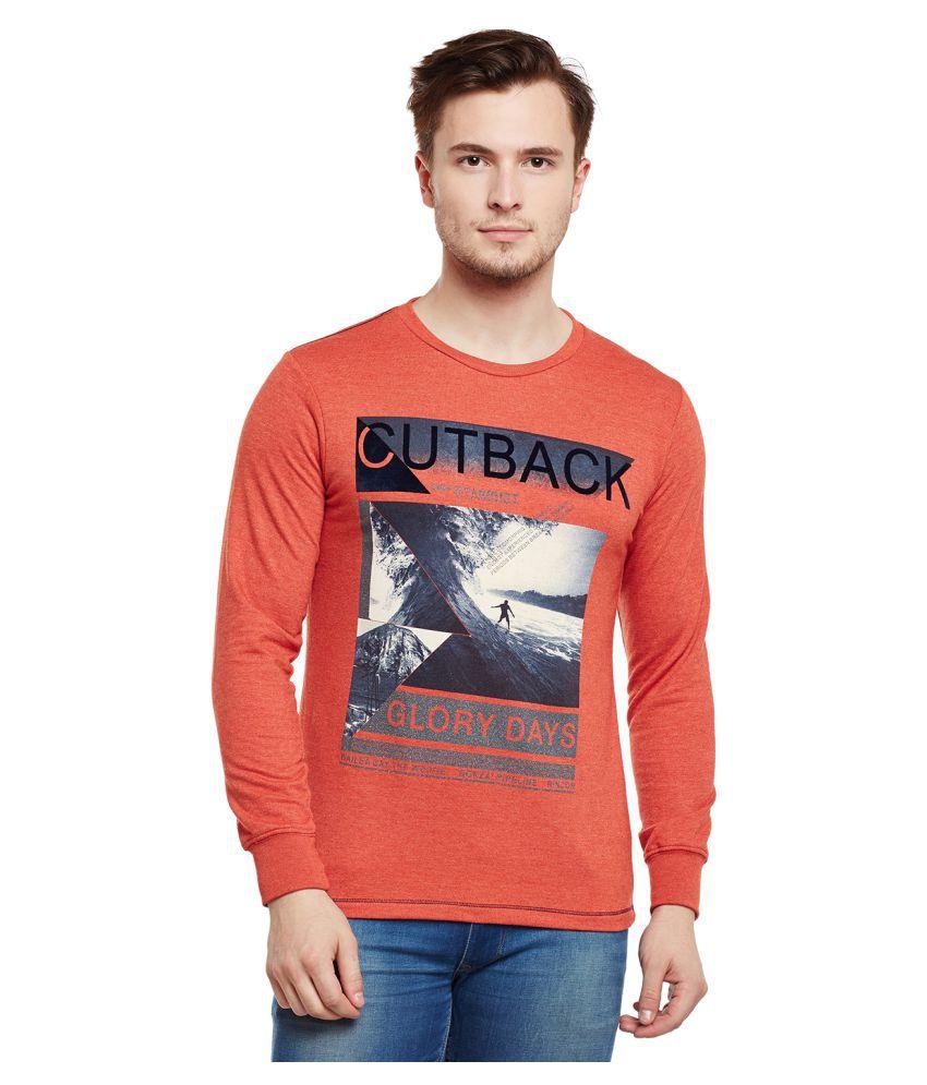 Duke Orange Round T-Shirt