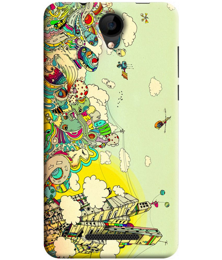 more photos 1bc14 73b9e IVOOMI ME1 Printed Cover By RKMOBILES - Printed Back Covers Online ...