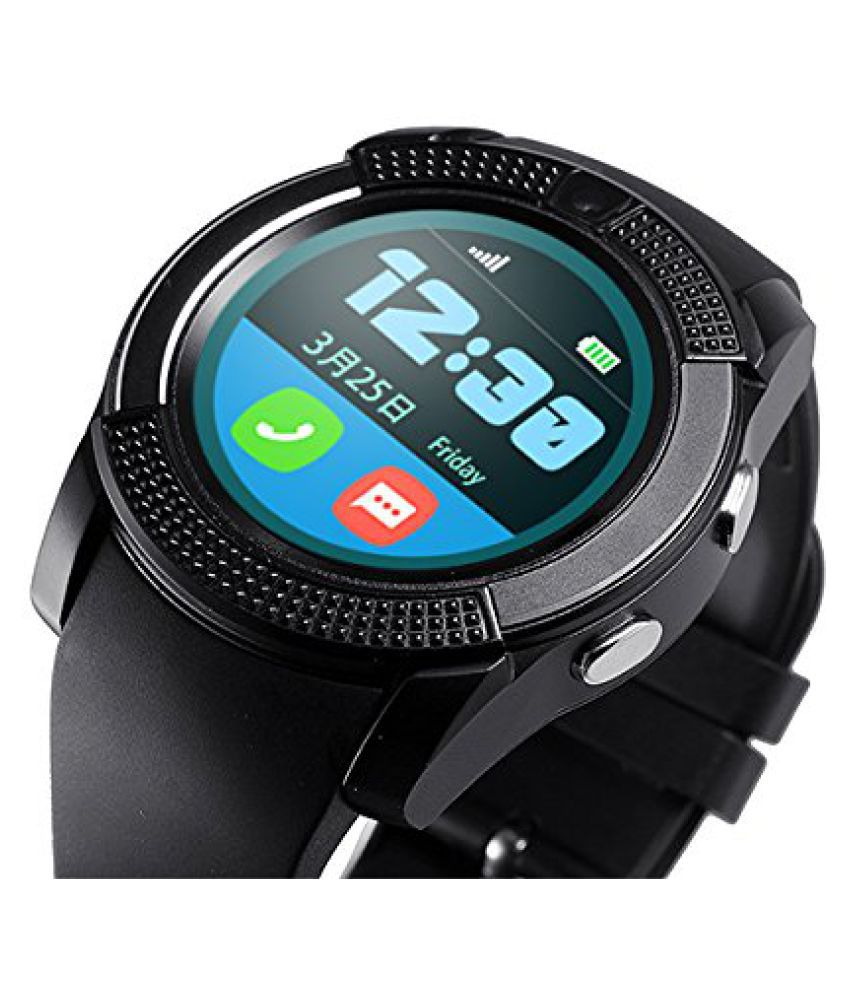 Mobilefit V9 Smartwatch suitable  for Iris Fuel 50 Smart Watches