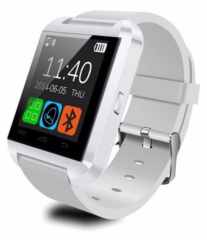Sharav U8 Smartwatch suitable  for Black Smart Watches