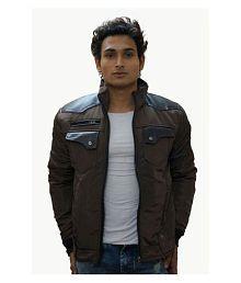 Fashion Addiction Brown Reversible Jacket