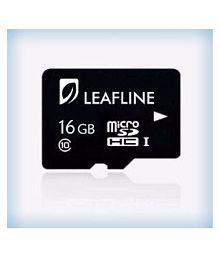 Leafline 16 GB Class 10 Memory Card